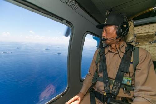 """대만 국방부 """"中랴오닝 전단 대만해협 훈련 보도는 '억측'"""""""