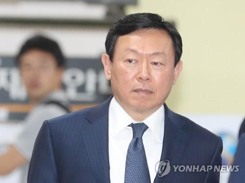 """롯데 신동빈, 일본서 투자설명회…""""통합경영으로 시너지 극대화"""""""