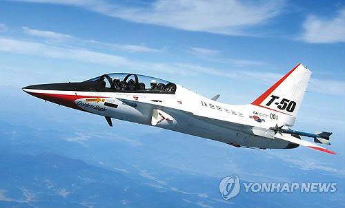 태국, 한국산 고등훈련기 T-50 8대 추가 구매할 듯