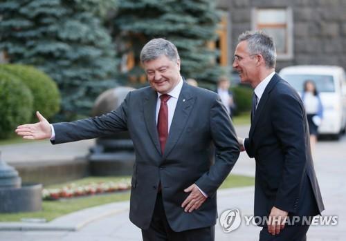 """우크라이나 """"나토 가입 실행계획 협의하자"""""""