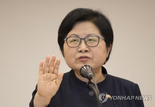[동정] 정현백 장관, 여성폭력 피해자 지원시설 방문