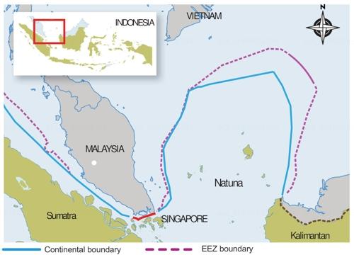 인도네시아, 분쟁중 남중국해 해역 '개명'…中견제용인듯