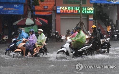 베트남 중북부에 태풍 '탈라스' 강타…14명 사망·실종