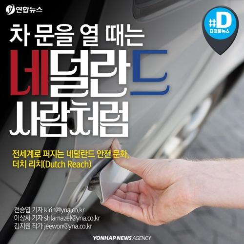 [카드뉴스] 차에서 내릴 때는 네덜란드 사람처럼 문 열어라