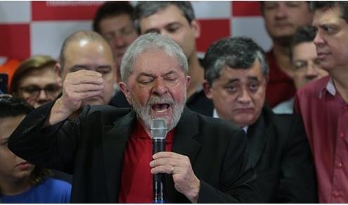"""부패혐의로 실형 선고받은 브라질 룰라 """"대선출마 의지 더 커져"""""""