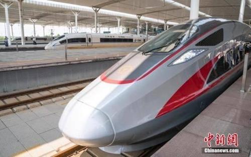 더 빨라진 중국 고속열차…베이징-상하이 '4시간' 주파