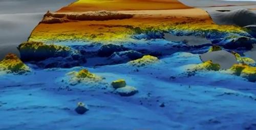 실종기는 못 찾았지만…인도양 해저 보여주는 지도나왔다
