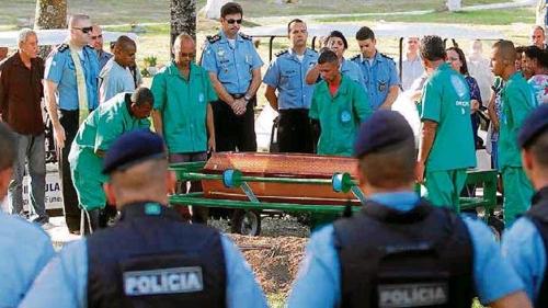 브라질 리우 경찰 총격 피살 잇달아…올해 90명 넘어서