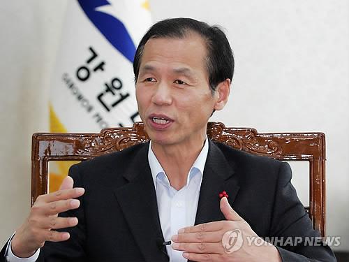 최문순 강원지사, 중국 베이징에 평화 올림픽 메시지 전달