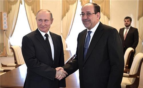 """푸틴, 방러 이라크 부통령과 회담…""""양자·중동 정세 논의"""""""