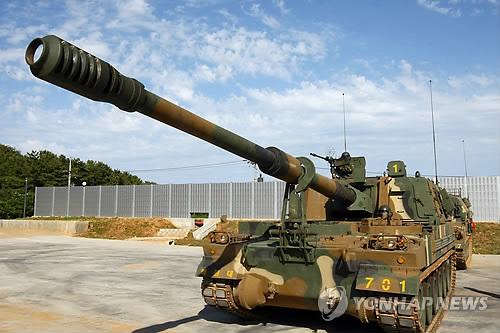 K-9 자주포, 이집트서 첫 성능평가 발사…수출협상 본격 개시