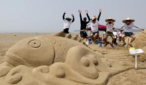 태안 신두리 해변서 29일 '국제 모래조각 페스티벌'