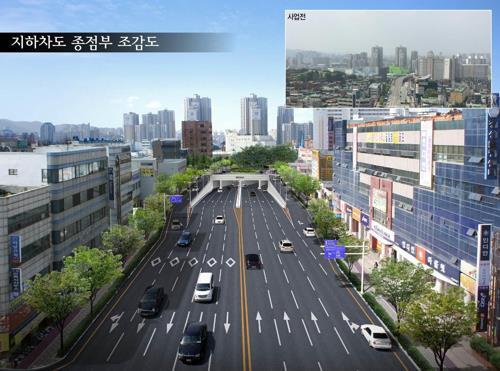 '대전 홍도육교 역사 속으로'…지하화 공사 착공