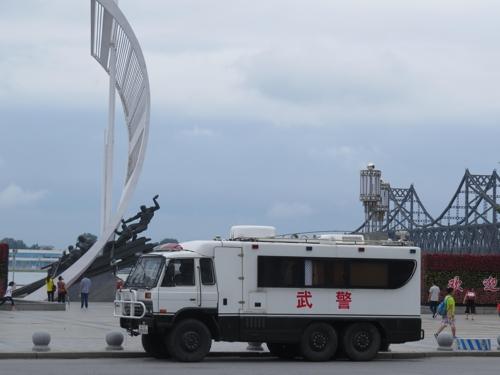 [르포] 北미사일 발사 도발 가능성에 북중접경 단둥 긴장 고조