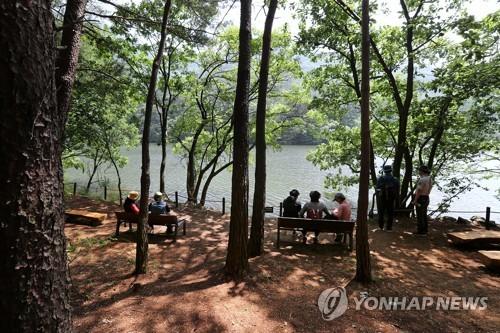 잔뜩 찌푸린 주말…충북 유명 산·유원지 '한산'