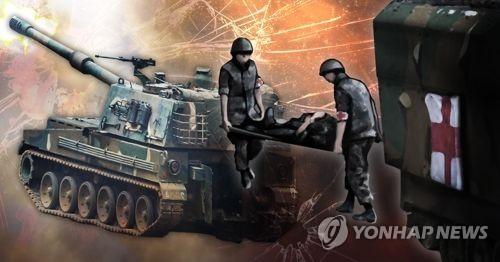 """송영무 """"K-9 사고원인 철저규명…희생장병 최고 예우할 것"""""""