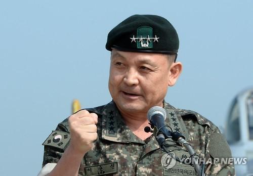 '22개월여간 전투복 차림' 이순진…42년 군생활 마감(종합)