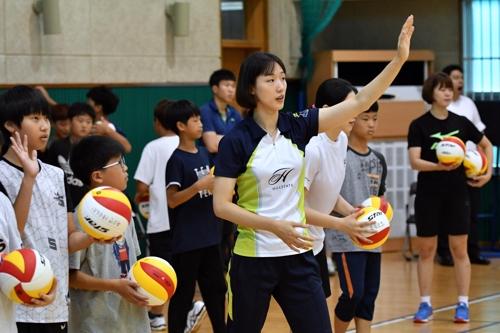 서령중·장흥여중, 홍천 전국유소년배구 우승