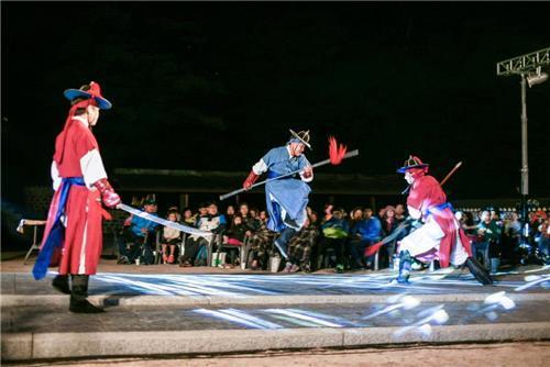 병자호란 당시 '야간 군사훈련' 뮤지컬로 재현