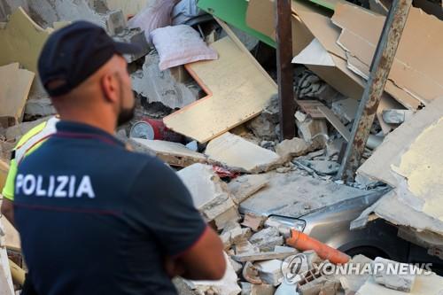 강진도 아닌데 '와르르'…이스키아 지진으로 伊불법건축 '도마'