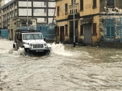 태풍 '하토' 홍콩·마카오 강타… 5명 사망·실종