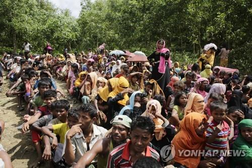 미얀마 탈출 로힝야족 난민 급증세 지속…37만명
