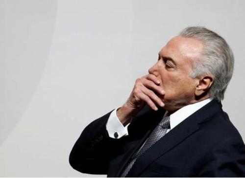 브라질 테메르 대통령 두 번째로 기소돼…사법방해 등 혐의