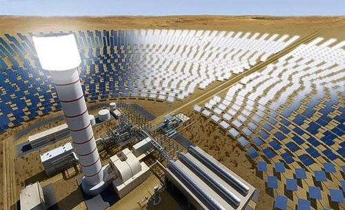 두바이, 사막에 280m 짜리 세계 최고 집광형발전소 추진