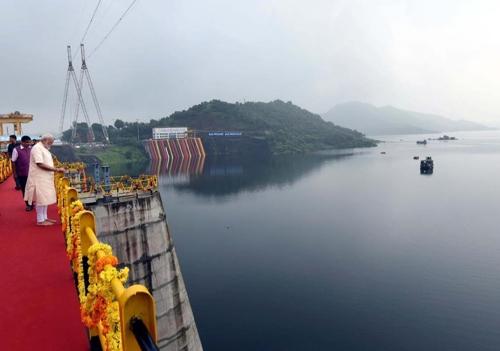 인도, 네루 총리 때 착공한 대형 댐 56년 만에 완공