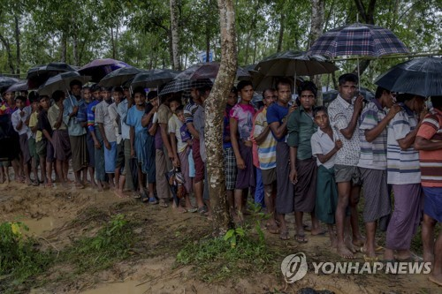 """국제인권단체 """"로힝야족 '인종청소' 미얀마군 제재해야"""""""