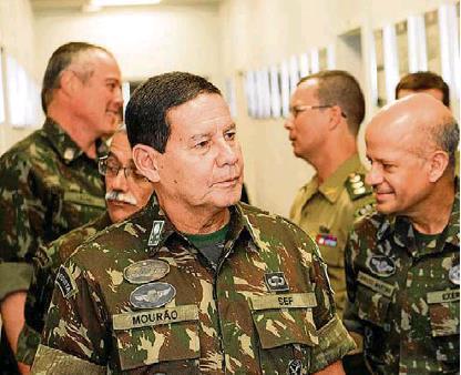 """""""정국혼란 계속되면""""…브라질 장성, 군부 개입설 주장해 파문"""