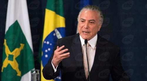 브라질 테메르 정부 지지율 최악…국정운영 긍정평가 3.4%