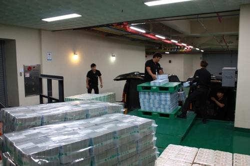 한은 전북본부 화폐수급 공식 재개…시중에 추석자금 공급