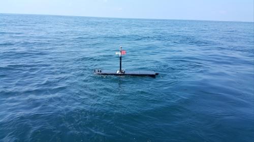 해양과학기술원 국내 처음 태풍 중심권 해양기상 관측 성공