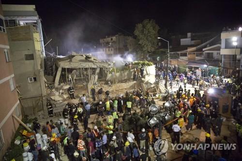 中외교부, 멕시코 지진 희생자·유족 애도…대만인 1명 부상