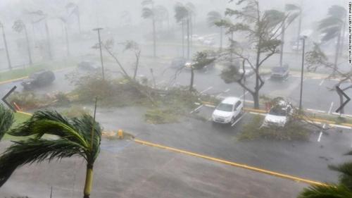 카리브해 강타한 허리케인 '마리아' 피해 속출…7명 사망