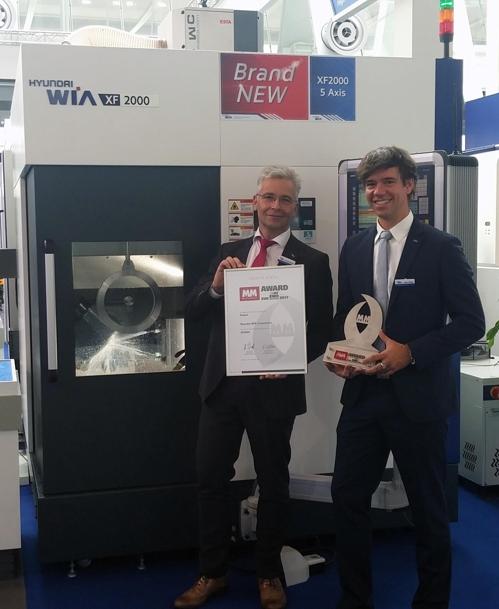 현대위아, 유럽 최고권위 공작기계상 첫 수상