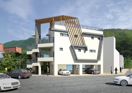 부산 감천항에 '패시브 하우스'형 편의시설 건립