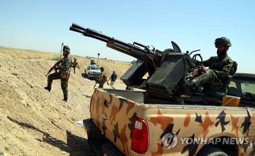 이라크군, 'IS 해방구' 하위자 탈환 작전 개시