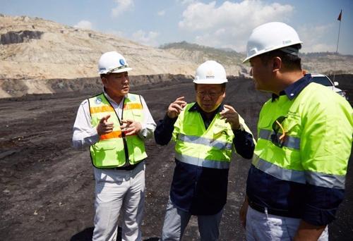 최양수 ㈜한화 대표, 인도네시아 키데코 광산 현장 방문
