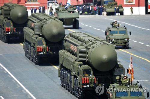 러시아, 신형 핵탄두 장착 ICBM '야르스' 발사 시험 성공