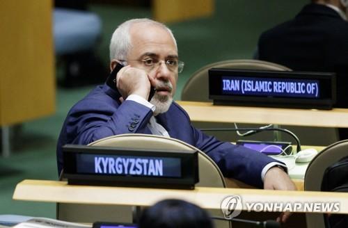 """이란 외무 """"핵협상국 중 하나만 빼고 합의 준수 약속"""""""