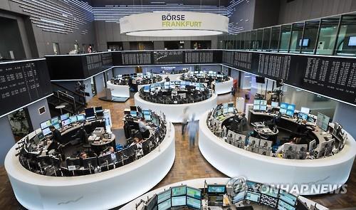 [유럽증시] 은행주 훈풍에 대체로 강세…獨·佛상승