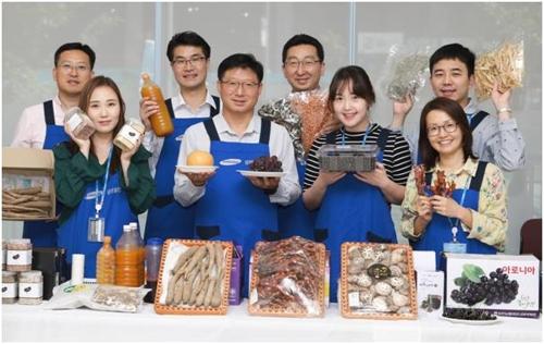삼성물산, 자매마을 특산품 판매 '추석 직거래 장터' 운영