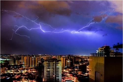 브라질에 가면 '벼락 조심'…한 해 평균 8천만번 떨어져