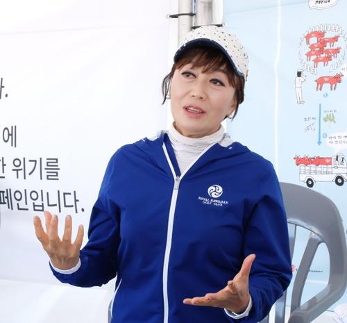 """어린이마라톤 참가 하춘화 """"어릴 때부터 나눔 생활화해야"""""""