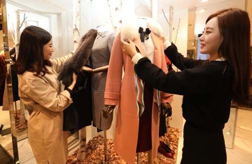 쌀쌀해진 날씨…롯데백화점, 겨울상품 할인행사