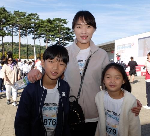 [사람들] 어린이마라톤 7년 개근한 조희윤-아현 남매