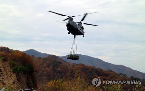 [카메라뉴스] 월동준비 한창인 최전방 GOP
