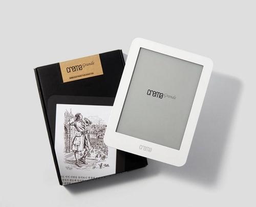 6.8인치 화면 전자책단말기 '크레마 그랑데' 출시